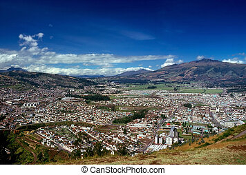 Quito, Ecuador - View of Quito in Ecuador