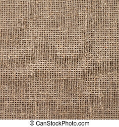 texture of sacking hessian burlap - square texture of woven...