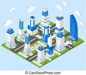 Office city center industry planning - Residential and...