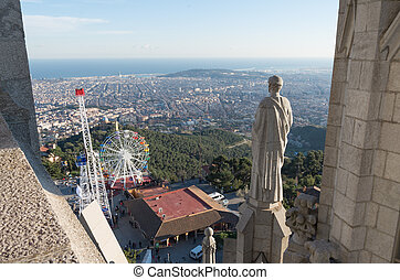 Temple of the Sacred Heart - Barcelona - Temple of the...