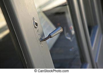 Door handle of an old shop