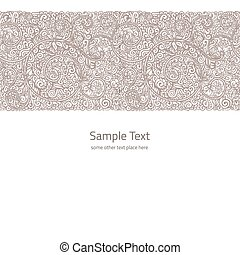 Vector ornate background