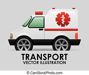 transport vehicle design, vector illustration eps10 graphic