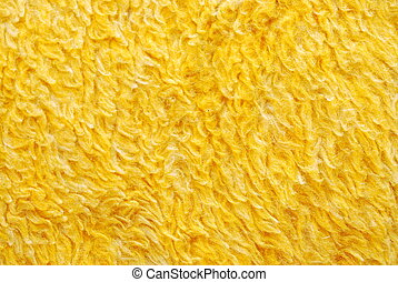 Blanket Fibers - texture of yellow blanket fibers. easily...