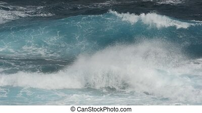 Beautiful closeup of waves