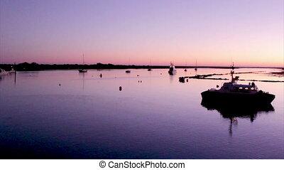 Algarve - Tavira - 4 Aguas Sunset B - Dusk in Quatro-Aguas...