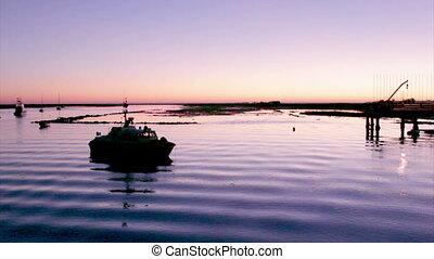 Algarve - Tavira - 4 Aguas Sunset C - Dusk in Quatro-Aguas...