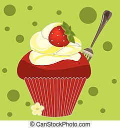 cupcake - Is a EPS 10 Illustrator file