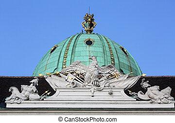 arquitectónico, artístico, decoraciones, en,...