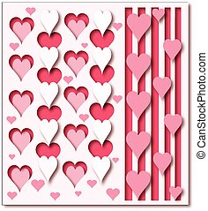 hearts background - Is a EPS Illustrator file