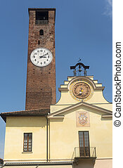 Soncino Cremona - Soncino Cremona, Lombardy, Italy: historic...