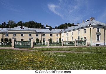 Oranienbaum (Lomonosov). Top park. Cavalry case
