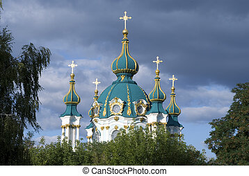 Andreevsky Church Kiev Ukraine