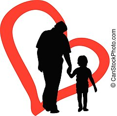 Father's Day - The representative illustration Father's Day,...
