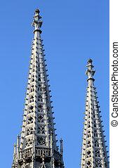 Votiv Kirche The Votive Church in Vienna - Votiv Kirche The...