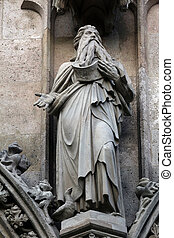 Saint Elijah, Votivkirche (The Votive Church). It is a...