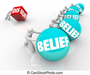 Belief Vs Disbelief Doubter Loses to People with Faith...