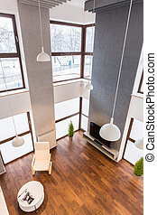Stylish apartment - View from the top of new stylish...