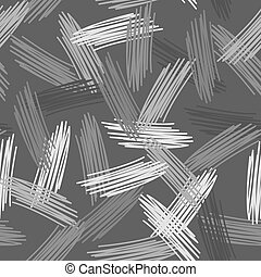 Abstract grunge texture seamless pattern. gray background. vector