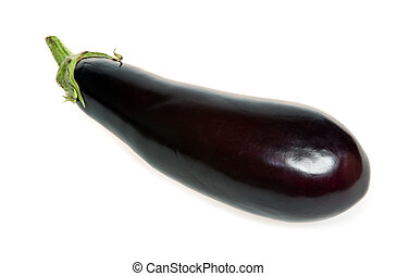 Eggplant aubergine - Eggplant on white background