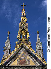 Albert Memorial - London - England - The Albert Memorial is...