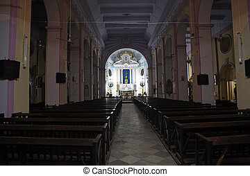 Catholic Cathedral of the Most Holy Rosary in Kolkata
