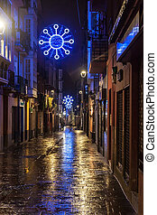 Christmas decoration in Vitoria - Christmas decoration in...
