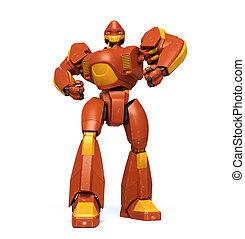 Steel giant - Anime style robot.