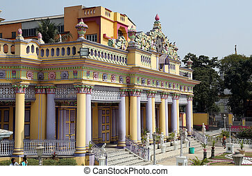 KOLKATA,INDIA - FEBRUARY 12: Jain Temple in Kolkata, West...