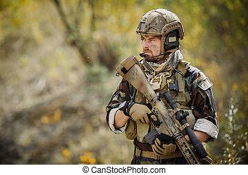 sniper operator
