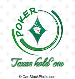 Texas holdem poker background - Texas holdem poker vector...