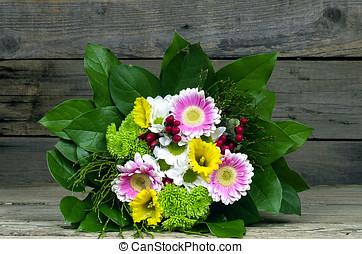 Bouquet of colorful flower
