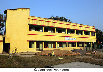Father Ante Gabric Memorial School in Kumrokhali, West...
