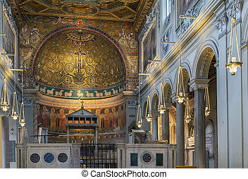 Basilica of San Clemente, Rome - The Basilica of Saint...