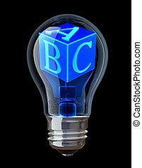 ABC. Education concept