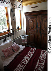 Room from the time when Mother Teresa lived in Skopje,...