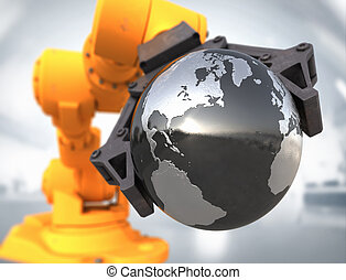 High technology world