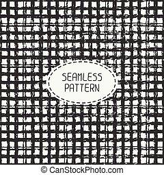 鉛筆, stripes., 落書き, ライン, seamless, patterns.,...