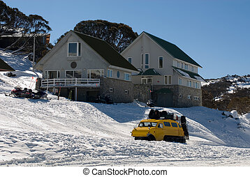 Snow Transport - An oversnow passenger transport vehicle...