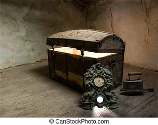 Pandora\'s box - Timeless view of the curiosity which lies...