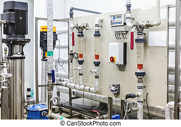 Control panel equipment on pharmaceutical industry - Control...
