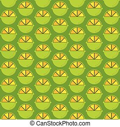lemon pattern design - creative lemon pattern design vector