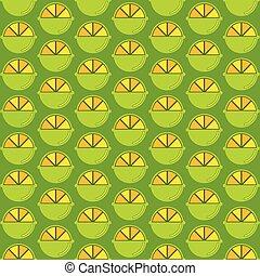 lemon pattern design  - creative lemon pattern design vector