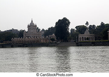 Belur Math, headquarters of Ramakrishna Mission in Kolkata,...