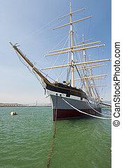 Sailboat - sailboat docked at the port of san francisco