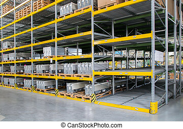 shelving gravity for pallets