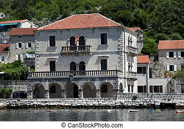 Mediterranean house in Perast, Montenegro - Mediterranean...