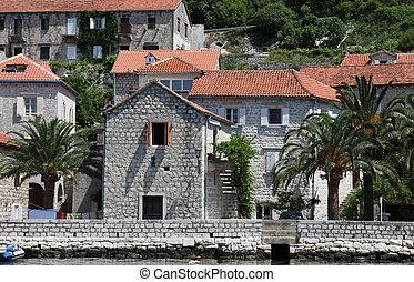 Mediterranean house in Perast - Mediterranean house, on June...