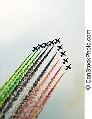 aerobatic airshow