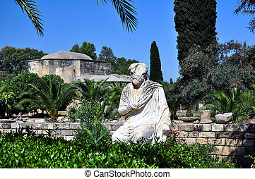 Greek statue - Travel photography: marble roman statue and...